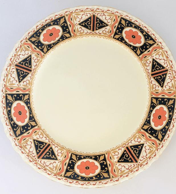 Grindley, Inglaterra, plato de pan 20,4 cm, 1936 - 1954