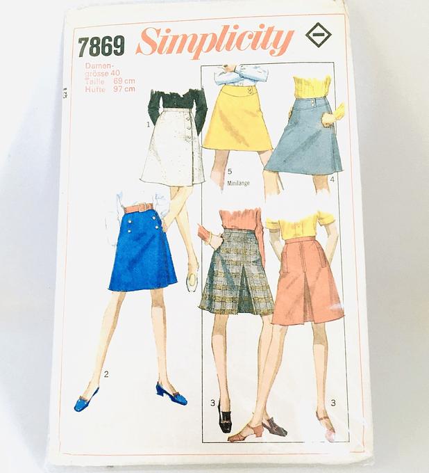 Simplicity, patrón para faldas