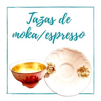 Tazas de moka/espresso