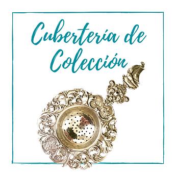 Cubertería de colección