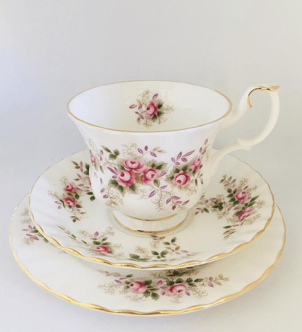 Royal Albert, Inglaterra, 'Lavender Rose', set de té, 1961 - 2009