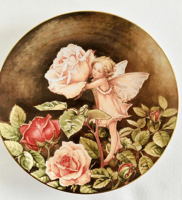 Border, Inglaterra, 'The Rose Fairy' ( el hada de la rosa), 1987