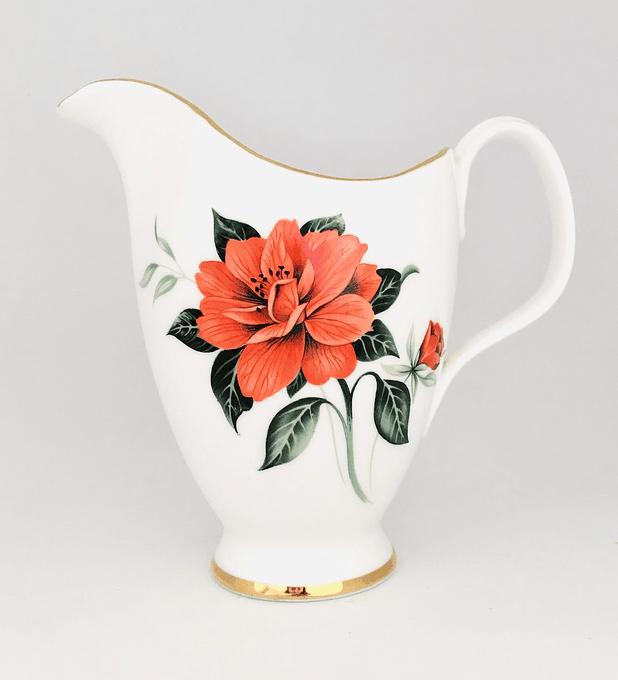 "Royal Albert, Inglaterra, cremero ""Tahití"", 1950's"