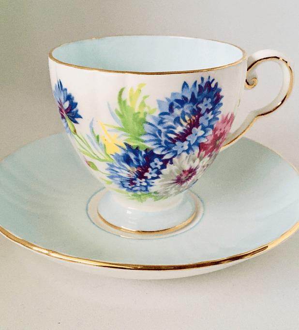 Royal Grafton, Inglaterra, taza de café, 1950's
