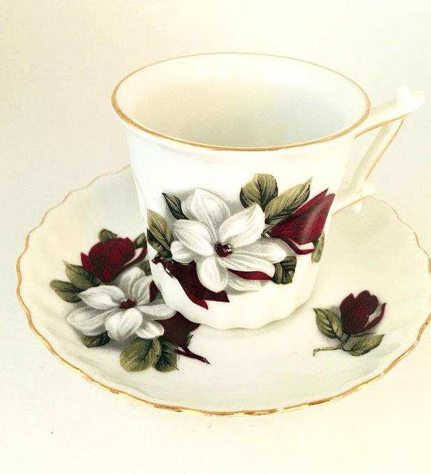 Winterling, Alemania, taza de espresso/moka, 'Magnolia', 1951 - 1972
