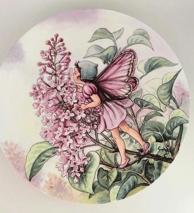 Gresham, Inglaterra, 'The lilac fairy' (El hada de la lila), 1994, plato numerado y con certificado