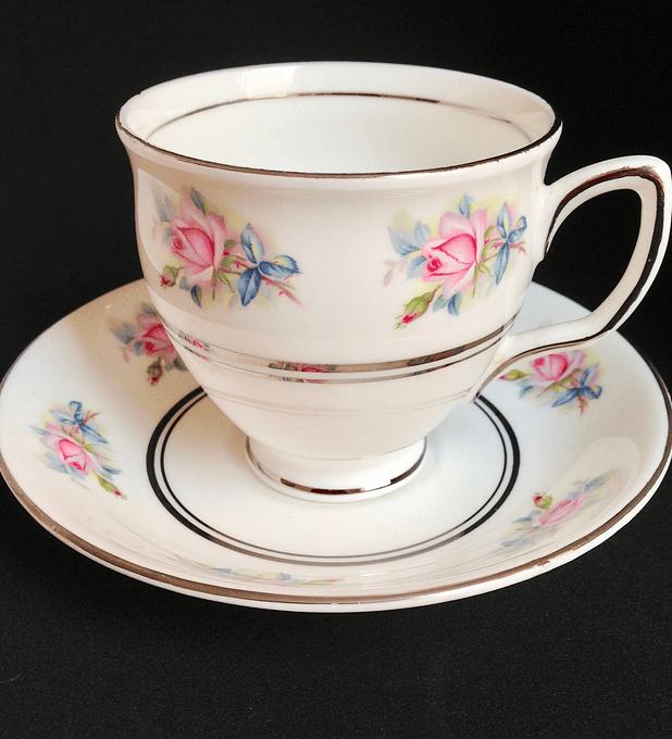 Duchess, Inglaterra, taza de té, 1960's - 1970's