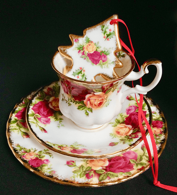 Royal Albert, Inglaterra, 'Old Country Roses',  set de café, desde 1962