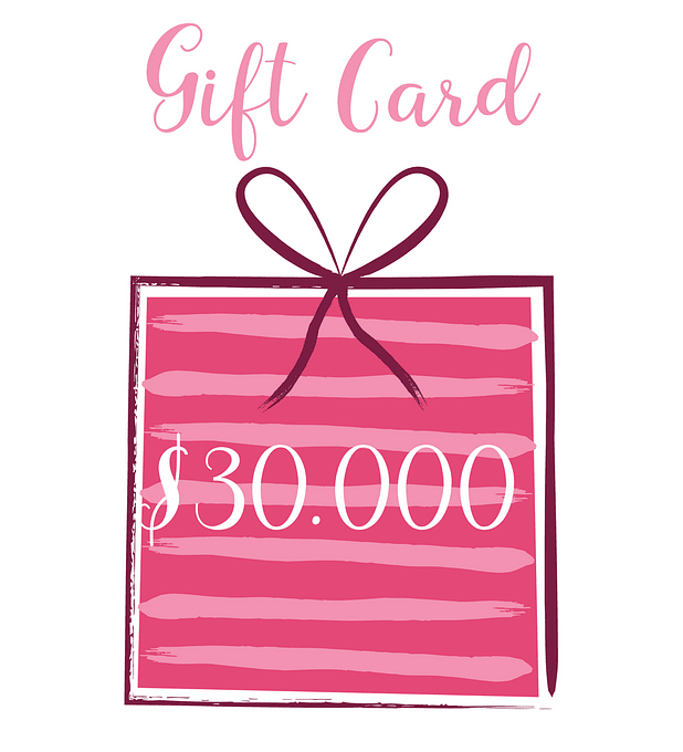 Gift Card 30.000 pesos