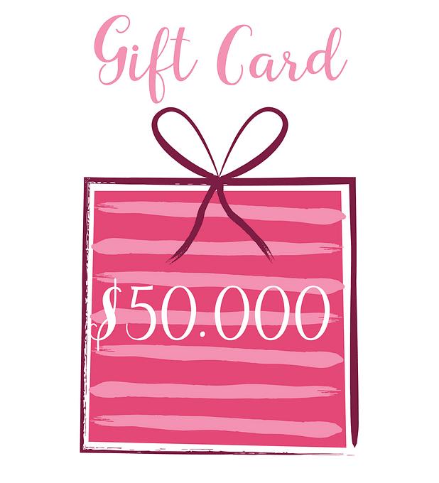 Gift Card 50.000 pesos