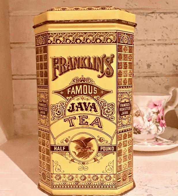 Caja metálica, Inglaterra, 1970's