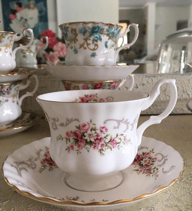 Royal Albert, Inglaterra, taza de té, 1960's - 1970's