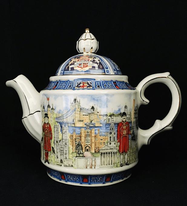 Sadler, Inglaterra, tetera de colección, 'Thameside', London Heritage Collection
