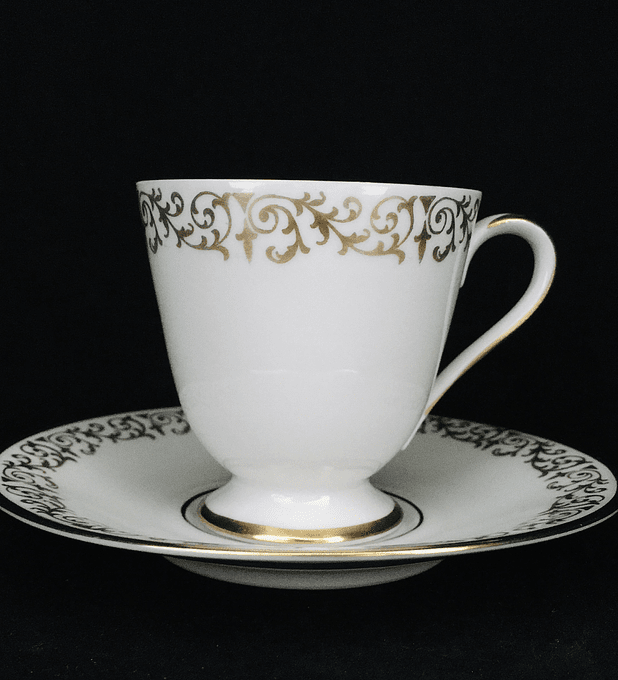 PT Tirschenreuth, Bavaria, Alemania, taza de moka/espresso, comienzon siglo XX