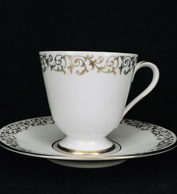 PT Tirschenreuth, Bavaria, Alemania, taza de moka/, comienzos siglo XX