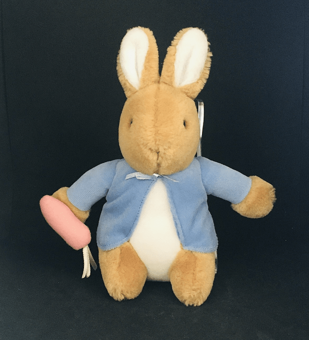 El mundo de Beatrix Potter, peluche Peter Rabbit