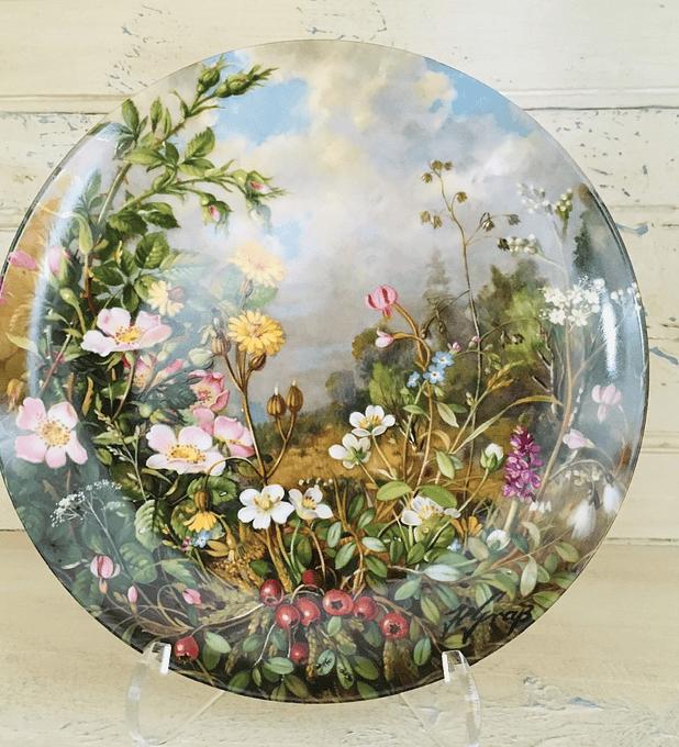 Fürstenberg, Alemania, Serie Bellezas Salvajes, 1989, ' Im hochmoor' (En el páramo alto), 19,5 cm