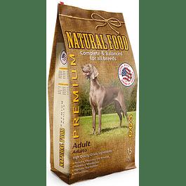 Natural Food Dog Adult 15 kilos