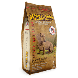 Natural Food Dog Mini Adult 10k