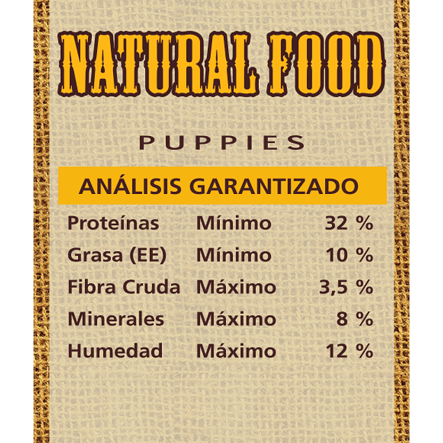 Natural Food Dog Puppies 10k