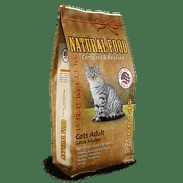 Natural Food Cat Adult 7,5 kilos