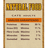 Natural Food Cat Adult 7,5k