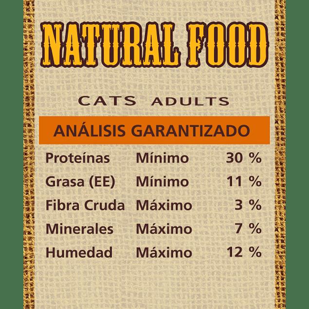 Natural Food Cat Adult 7,5k