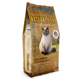 Natural Food Cat Indoor 7,5k