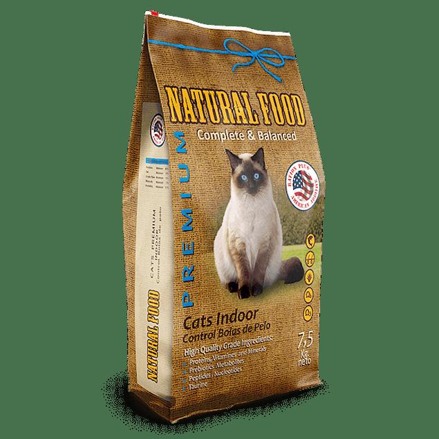 Natural Food Cat Indoor 7,5k