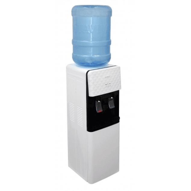 Pack Dispensador de Compresor + 3 bidones 20 lt.