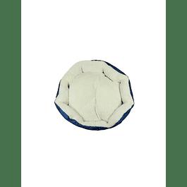 HEY! Cama diseño azul Liso Small