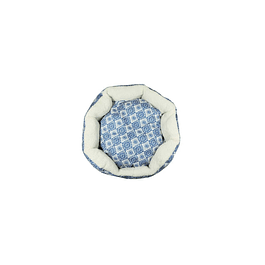 HEY! Cama diseño azul Estampado Small