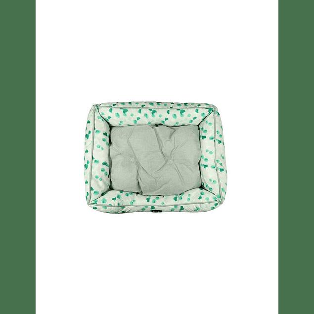 HEY! Cama Verde diseño Pintitas Medium