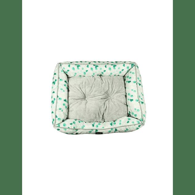 HEY! Cama Verde diseño Pintitas Small