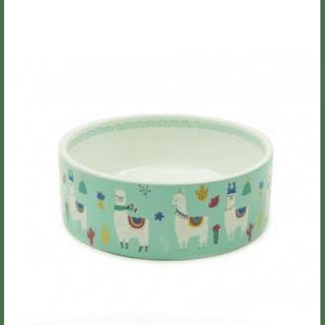 HEY! Plato de cerámica diseño Llama