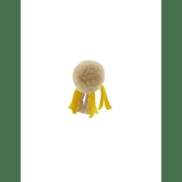 HEY! Juguete de Gato Pom pom y Cintas 11x5 cms.