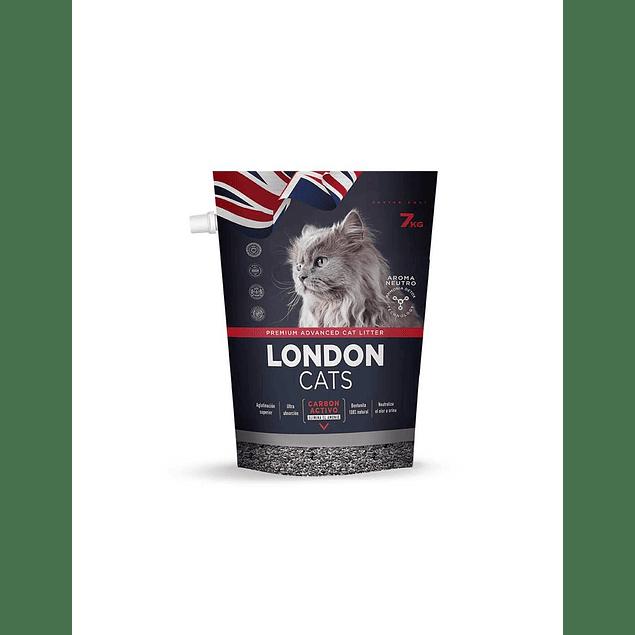 London Cats Odor Seal Carbon 7 kilos