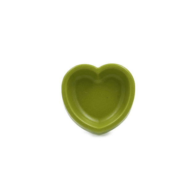HEY! Plato Bamboo con Forma de Corazón Colores Surtidos 300 ml.