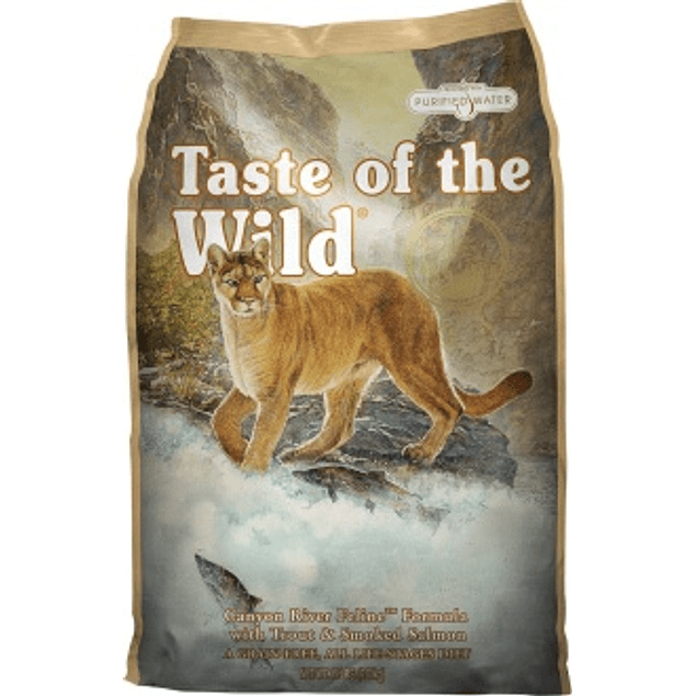 Taste of the Wild Canyon River Gato GATOLOVER 10% DCTO!!!