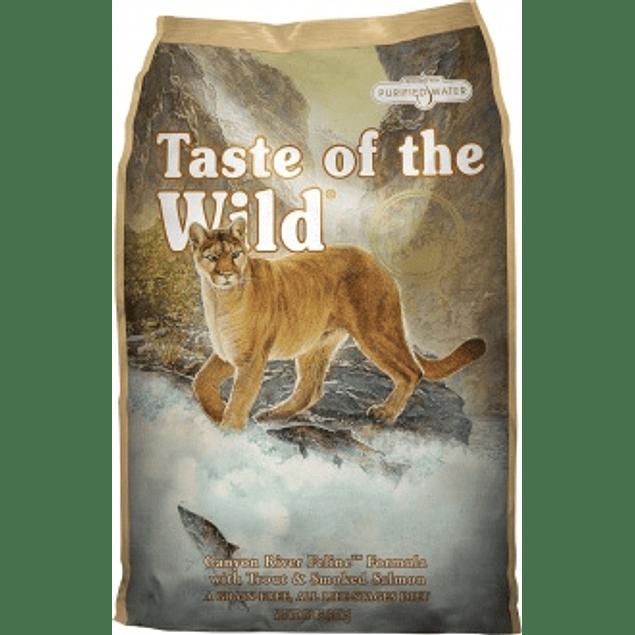 Taste of the Wild Canyon River Gato