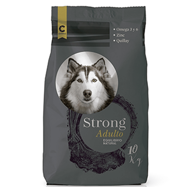 Strong Perros Adultos 10-18-25 kg.