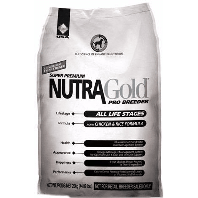 Nutragold Pro Breeder 20 kilos