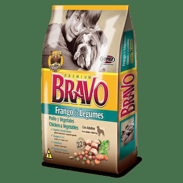 Bravo Frango e Legumes (Pollo y Vegetales) 20 kilos