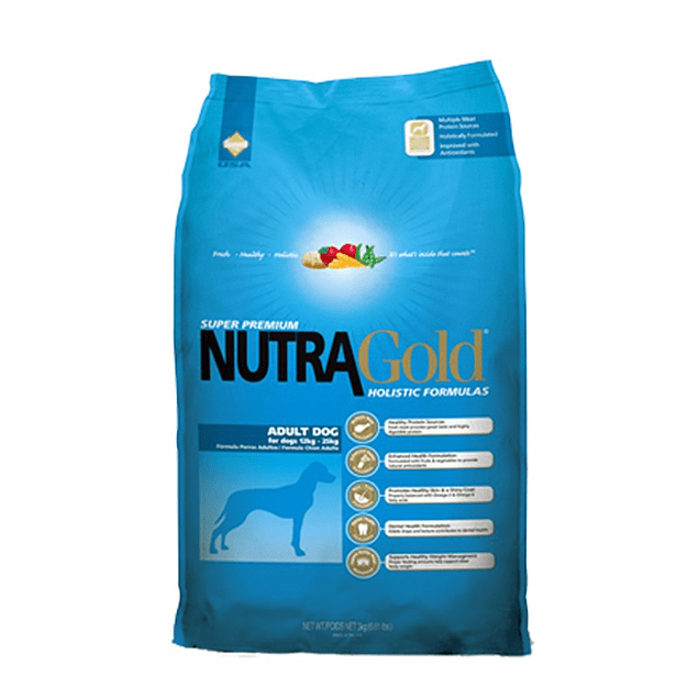 Nutragold Adulto 15 kg. (Antes $43.900!!!!)