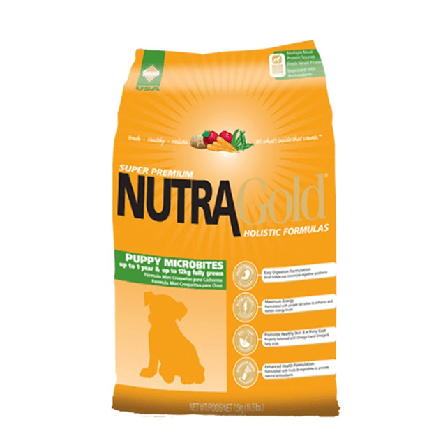 Nutragold Microbites Puppy 7,5 kilos