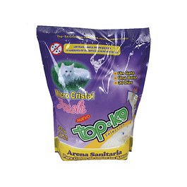 Arena Sanitaria para Gato Top K9 Cristal 10 x 1,6 kilos