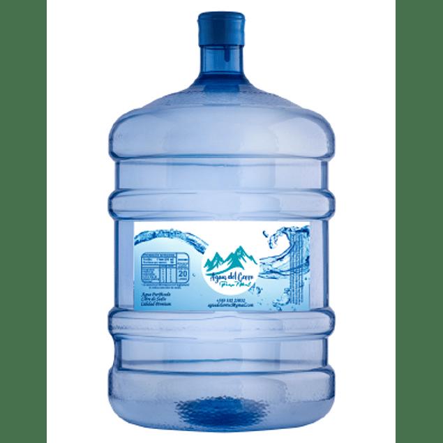 Pack Inicial Dispensador de Agua Electro + Dos Bidones de agua de 20 Litros (incluye envases)
