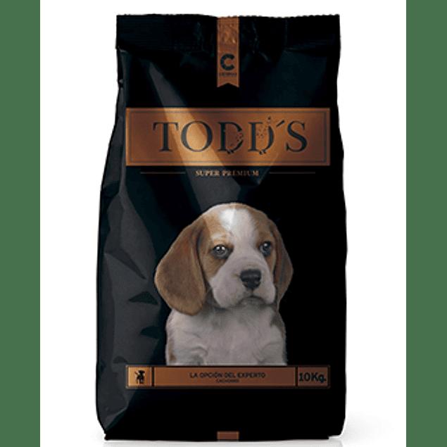 Todds Cachorro 10 kg.