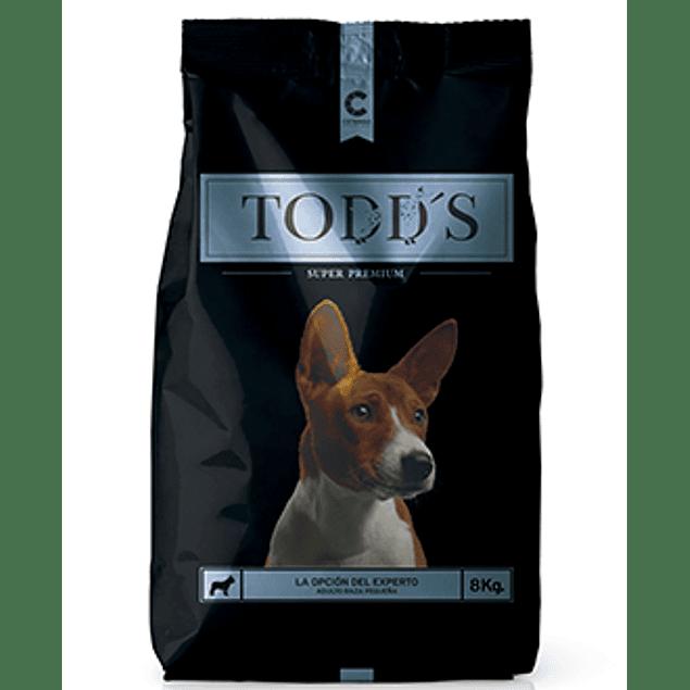 Todds Adulto Razas Pequeñas 8 kilos