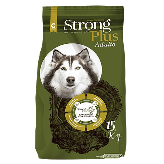Strong Plus Adulto 15 kg.